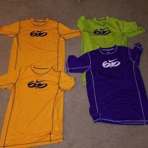 Nike 6.0 compressed shirts